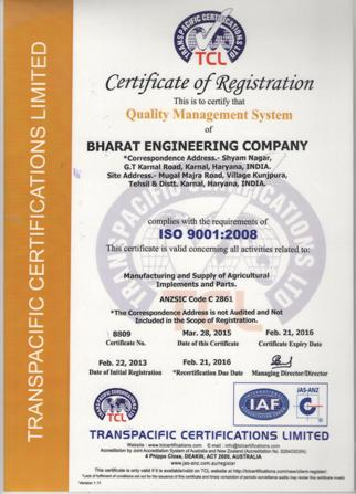 Bharat Engineering Company